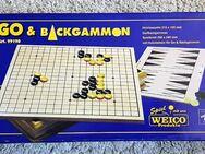 Y99 Spiele GO und BACKGAMMON Holz von WEICO, ab 8Jahre - Lüdenscheid