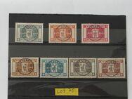 Würtemberg 1916, Mi.Nr.123-129,Lot 70