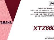 Bedienungs- Anleitung (B. A.) für die Yamaha XTZ 660 Motorrad ! - Bochum