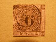Baden 6 Kreuzer,1851-52,Mi.Nr.7,Lot 341