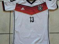 Fußballtrikot Deutscher Fußballbund Müller 13 adidas Größe 164 - Dortmund