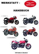 Werkstatthandbuch Moto Guzzi V 11 in deutsch !