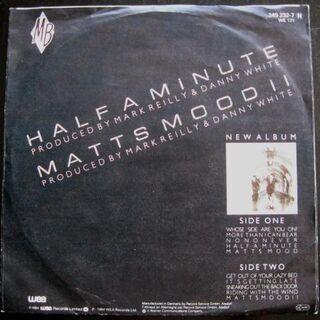 Matt Bianco - Half A Minute (Single) - Niddatal Zentrum