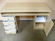 Schreibtisch in Buche furniert / Bürotisch - Zeuthen
