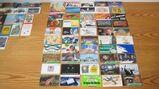 106 Gebrauchte Telefonkarten aus unterschiedlichen Ländern