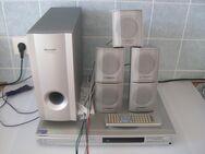 Heimkinosystem von Sharp mit DvD Player 5,1 Boxen mit FB, Super  zustand. - Aachen