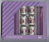 Funny Kerzen Leuchter 70er Jahre Rosenmotiv Vintage