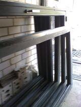 Großfenster-Rahmen,  neuwwertiger Zustand, hochwertige Alu-Anfertigungen