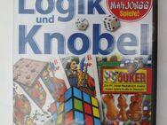 """55 PC-Spiele  """" Logik und Knobel  """"   N E U - Essen"""