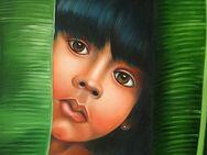 Indio Kind Amazonas Brasilien Indigenes Mädchen Palmen Dschungel Ethno Natur Bio - Nürnberg