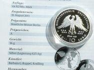 10 Euro Silber 2011Deutschland, Archaeopteryx, Fossil - Flensburg