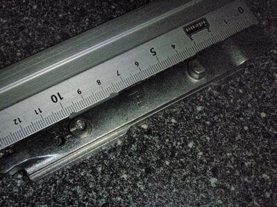 Siegenia-Kippriegel-Länge 136 mm - Ulmen