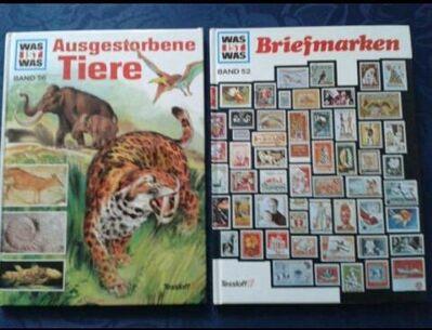 Was ist Was Bücher, vier Stück - Kassel Brasselsberg