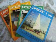 DDR PRACTIC Hefte 1/85 + 2/85 + 3/85 + 4/85 / Selbstbautechnik / Basteln + Bauen - Zeuthen