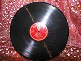 Alte Parlophon Schellackplatte, Barnabás von Géczy / Ninna-Nanna, Mein Glück