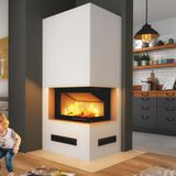 Hajduk Imperial Medium Plus Kaminbausatz Smart 2PXLTh Kamineinsatz 6kW