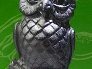Vogel Eule aus Zinn für Setzkasten - Spraitbach