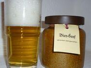 Bier  Senf im Steinzeugtopf 270ml Thüringen Schwarzbier - Görlitz