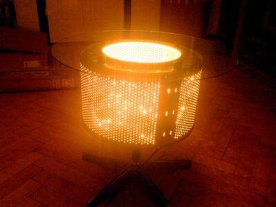 Designtisch Glastisch Waschtrommeltisch Feuerkorb Feuerschale - Lindenberg (Allgäu)