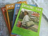 DDR PRACTIC Hefte 1/84 + 2/84 + 3/84 + 4/84 / Selbstbautechnik / Basteln + Bauen - Zeuthen