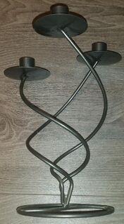 Metall Kerzenständer 3 Flammig für Stabkerzen geeignet - Verden (Aller)