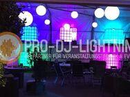 IBC Container beleuchtet mieten für Party Hochzeit Events Deko - Wismar