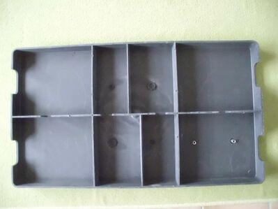 Poolfilter Konsole, unbenutzt, Maße sind 79 x 45 x 6 cm - Ehra-Lessien
