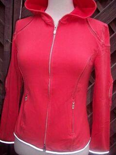 Belstaff Cardigan Hoodie für Damen Rot Red  Ital. Gr: 42 /  deutsche gr. 36 - Drakenburg