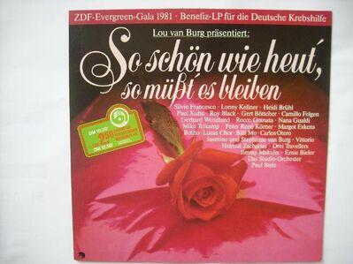 """So schön wie heut"""", so müßt"""" es bleiben - Lou van Burg präsentiert (Vinyl Langspielplatte) - Rosenheim"""