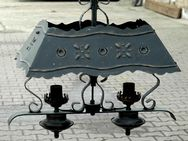 Hängelampe, schöne alte Lampe aus Schmiedeeisen, verziert - Frankfurt (Main)