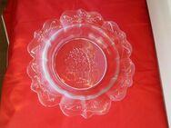 Goebel Glas Schale mit Blumen-Korb Schüssel Deko Vintage Retro 5,- - Flensburg