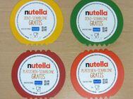 Plätzchenausstecher von Nutella 2019 Komplettsatz 4 Stück Koziol - Meerbusch