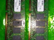 RESERVIERT (2) MT18JSF51272PZ-1G4D1BB 1120 4GB 1RX4 PC-3-10600R-9-10-C1 Product of Singapore CBNENS1003 RAM ULTIMATE FUJITSU CELSIUS W410