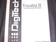 Bedienungsanleitung deutsch für DigiTech Vocalist II  *Owner's Manual Vocal Multi Effects Processor - Schotten