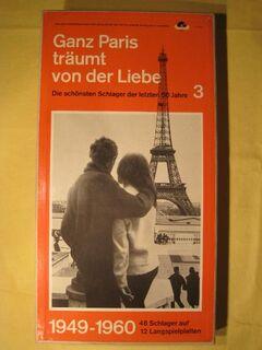 Schallplatten, Ganz Paris träumt von der Liebe - Kassel