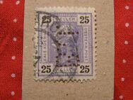 Österreich 25Heller gelocht,1899-08,Mi:AT 76A,Lot 428