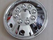 Radkappe Radzierblende Radblende Einzelradkappe AMSTERDAM (Chrom) für Transporter und Wohnmobile mit 16 Zoll Stahlfelge Sehr guter Zustand - Bochum