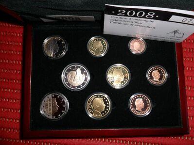 Luxemburg 2008 Kursmünzsatz PP + 1 x 2 € Gedenkmünze * 9 Münzen - Immenstadt (Allgäu) Zentrum