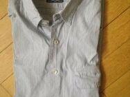 Schönes Herrenhemd von BOSS Gr 40 weiß -grau S / M - Bonn
