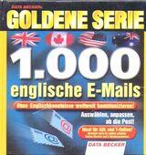 DATA BECKER Goldene Serie: 10000 englische E-Mails