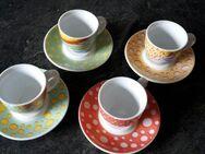 8 teiliges Espressoset aus hochwertigem Porzellan - Dortmund Aplerbeck