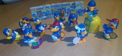 """Ü-Eier """" Bingo Birds """" Erscheinungsjahr 1996 - Verden (Aller) Zentrum"""