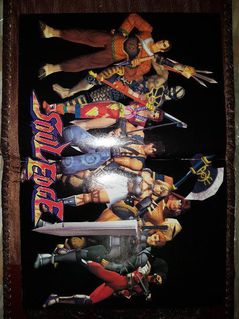 Soul Edge Poster USA Gamepro August 1996 Mint Condition NEU MERCHANDISE - München Altstadt-Lehel