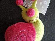 Schnecke aus Stoff neu / unbespielt pink-gelb - Nürnberg