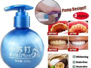220g Newest Baking Soda Zahnpaste Stain Removal Whitening Zahnpaste Fight Bleeding Gums - Reinheim