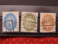 DR-Dienstmarken Ziffern,1931-32,Mi:Nr.127-29,  Lot 412