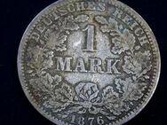 1 Reichsmark Kaiserreich,1876-A,Lot 138