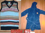 Kinderkleidung Größe 116 zu verkaufen - Walsrode