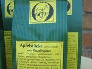 getrocknete Apfelstücke, Naturkost aus dem Naturpark Hoher Fläming - Bad Belzig Zentrum