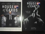 DVD House of Cards Staffeln 1+2 - Leck